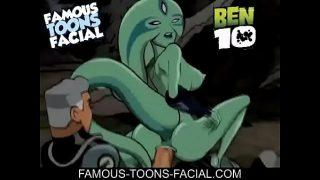 Ben 10 X – Max Gives Facial To Xylene Cartoon Porn